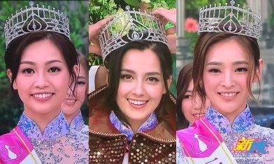 香港小姐2020三甲出爐 混血謝嘉怡奪冠、廖慧儀大熱倒灶五強不入