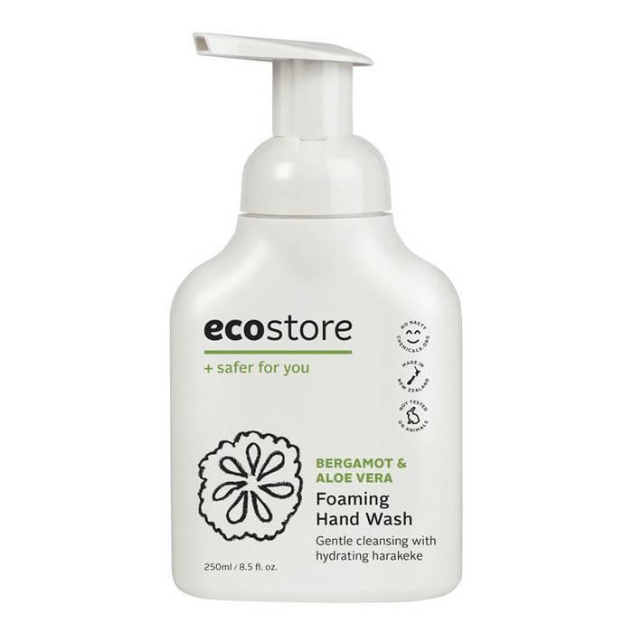 5.ecostore Bergamot & Aloe Vera Foaming Hand Wash 5星