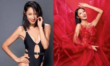 43歲索媽蔣怡高衩泳衣拍廣告 老公操刀影相游說著少啲先靚