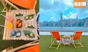 西九藝術公園FAM囍公館推點心野餐外賣!180度維港靚景歎點心|外賣食乜好