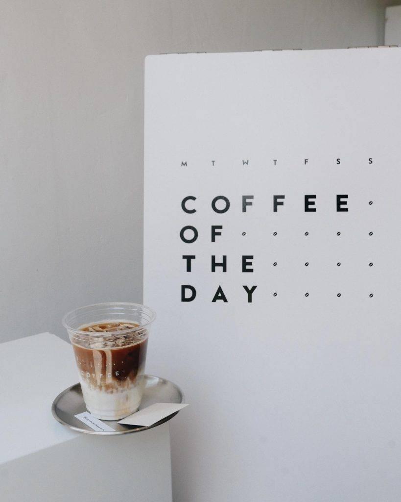 咖啡漸層勁打卡!