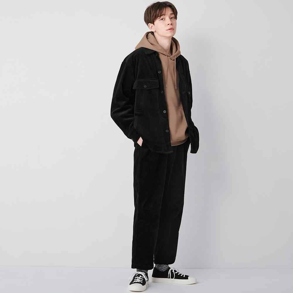 Corduroy Wide Tapered Relaxed Ankle Pants 新店獨家優惠 9(原價9)