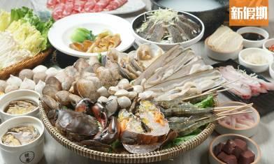 觀塘發哥粥底海鮮火鍋人均$124!香港仔直送海鮮 日本龍蝦+鮑魚+貴妃蚌|區區搵食