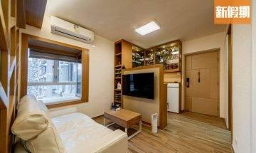 室內設計實例!大埔300呎簡約風 木系元素把自然帶入家居@裝修佬專欄 家居七巧板