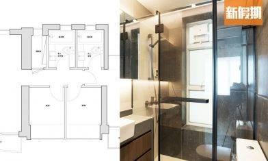 型格工業風室內設計!將軍澳日出康城實例 630實呎四房改裝三房@xoxdesign|家居七巧板