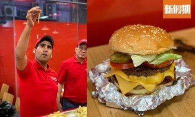 Five Guys觀塘APM開幕!勁濃肉香芝士漢堡 花生任食+任加可樂 |區區搵食