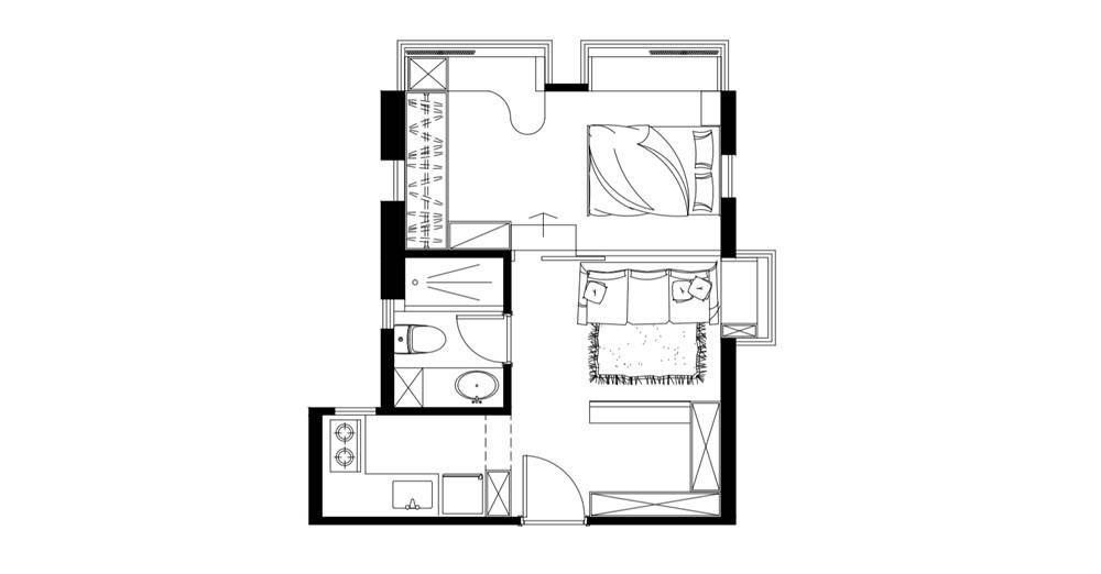 大題:【香港案例】大埔300呎 木元素簡約室內設計 把自然帶入家居