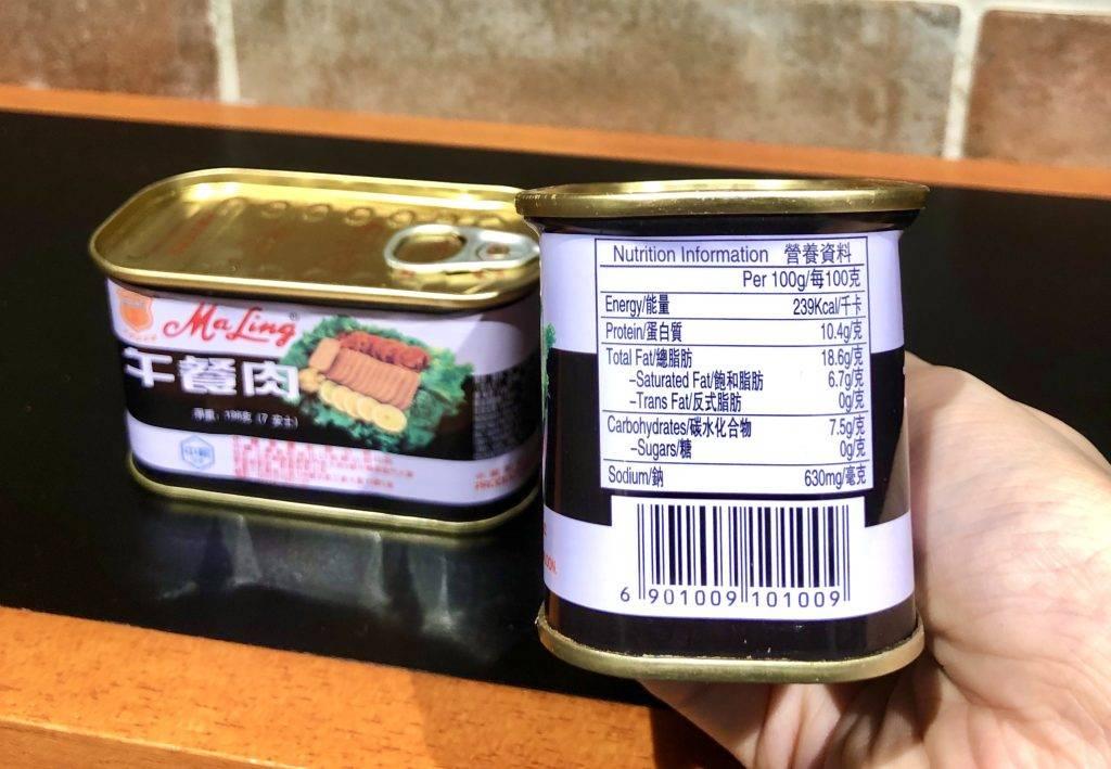 傳統梅林牌的午餐肉各項指標中等。