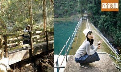 屯門藍地水塘行山徑 離市區5分鐘!晀望屯門全景+彩虹打卡欄杆|香港好去處