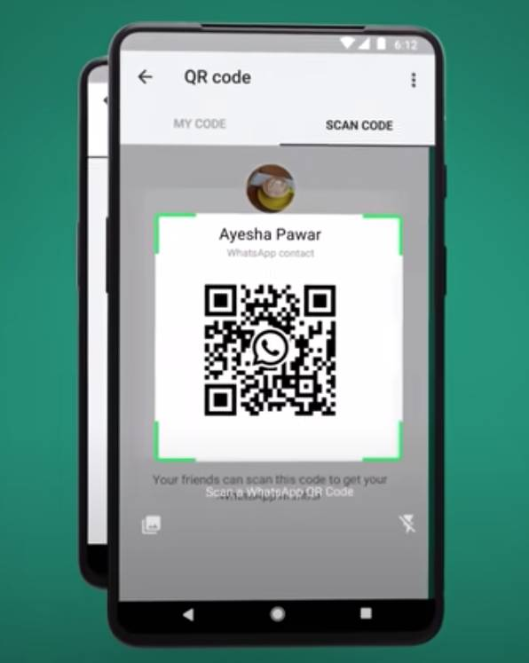 便會顯示QR Code條碼。