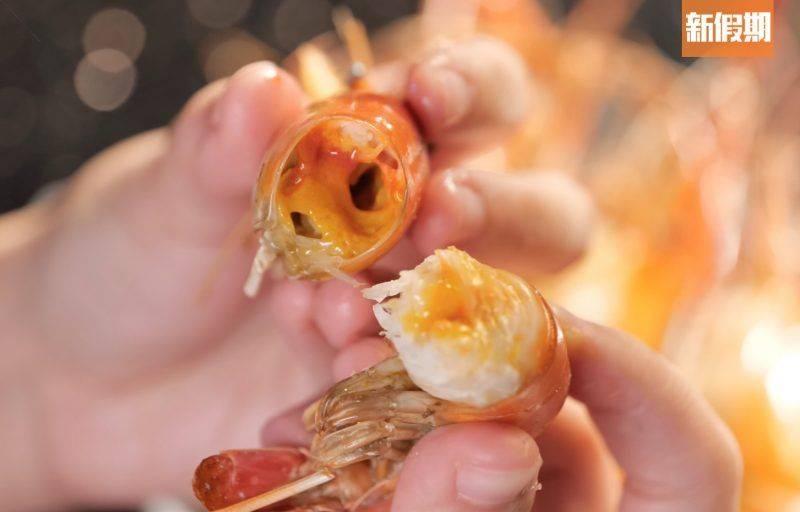 蝦肉鮮甜,更有不少蝦膏在內。