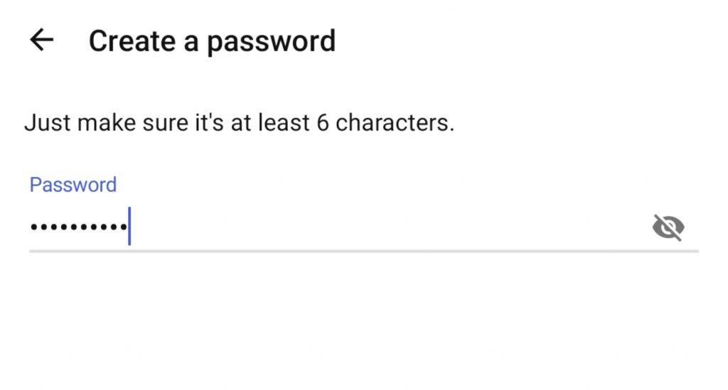 3. 填寫密碼