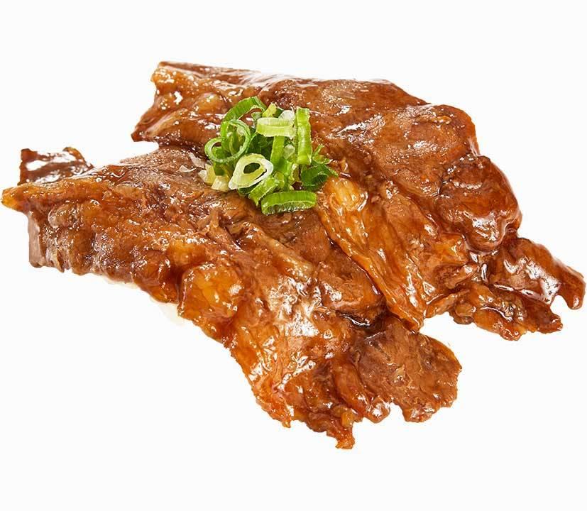 壽喜燒牛排牛排肉嫩甘甜。