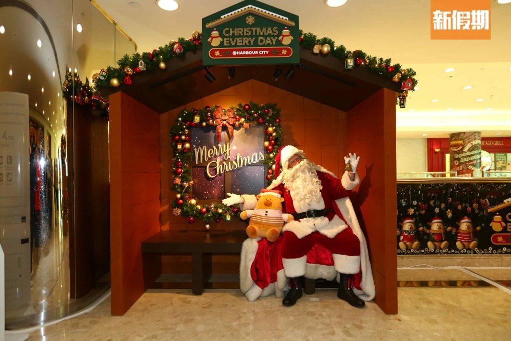 市民亦可在現場捐款予「香港血癌基金」,把繡上不同祝願的毛毛慈善聖誕熊帶回家,同時幫助有需要的弱小社群。