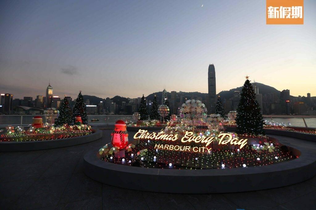戶外聖誕燈飾花園+LED燈海!