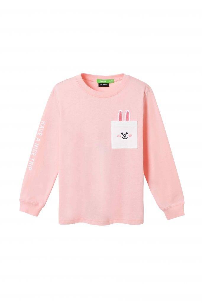 童裝CONY刺繡口袋Tee 9