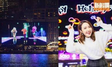 尖東聖誕燈飾2020!8萬2千顆LED燈幕牆+漫天燈海+雪花/禮物盒/聖誕老人|香港好去處