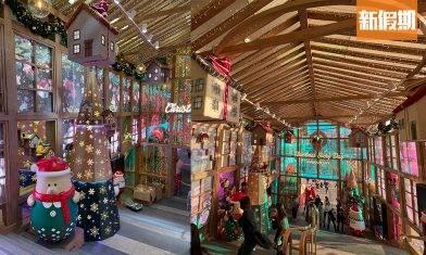 海港城聖誕燈飾3大打卡位!3米巨型聖誕熊仔/180°海景聖誕營火會+戶外LED燈海花園!|香港好去處