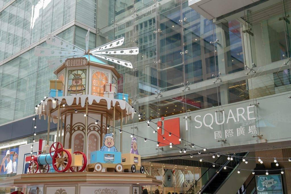 iSQUARE Chubbi Chunk Christmas Downtown-聖誕好去處2020