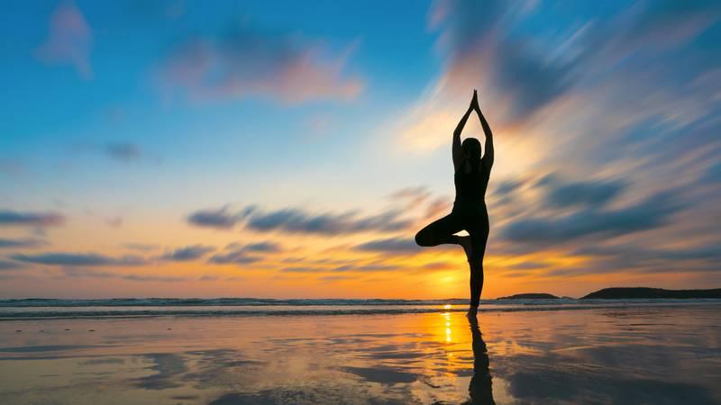 瑜珈有助修緊線條,配合燒脂帶氧運動能令體脂及身形改善更顯著。