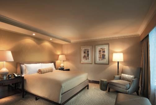 酒店亦推出Bliss & Brunch Deluxe優 惠,雙人自助早餐、早午餐,再加一晚 豪華客房,都是