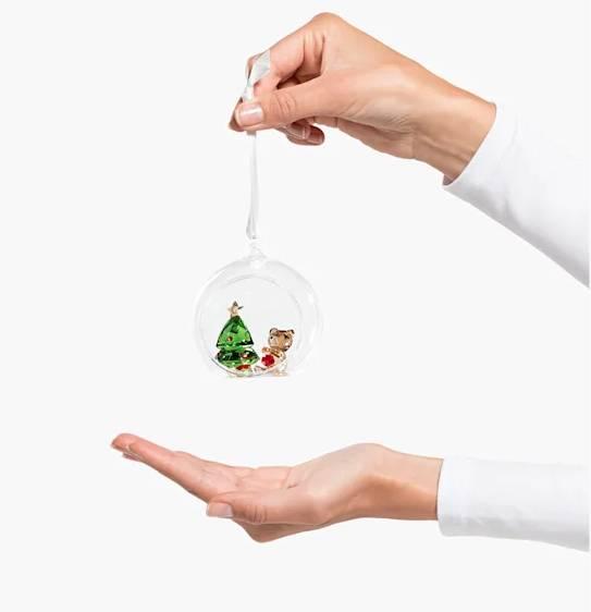 Swarovski 聖誕球水晶掛飾