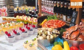 元朗Thai Market巿集餐廳推自助餐 $238泰式大屋任食!必食回本海鮮/燒牛肉/甜品 |自助餐我要