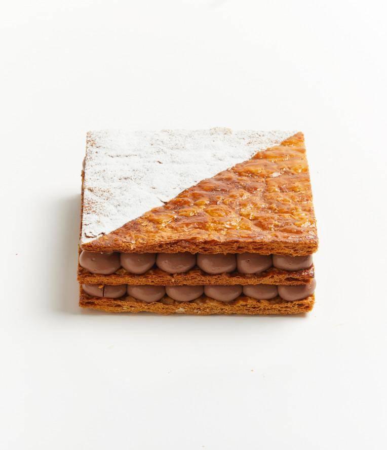 71.5%黑朱古力千層蛋糕 0