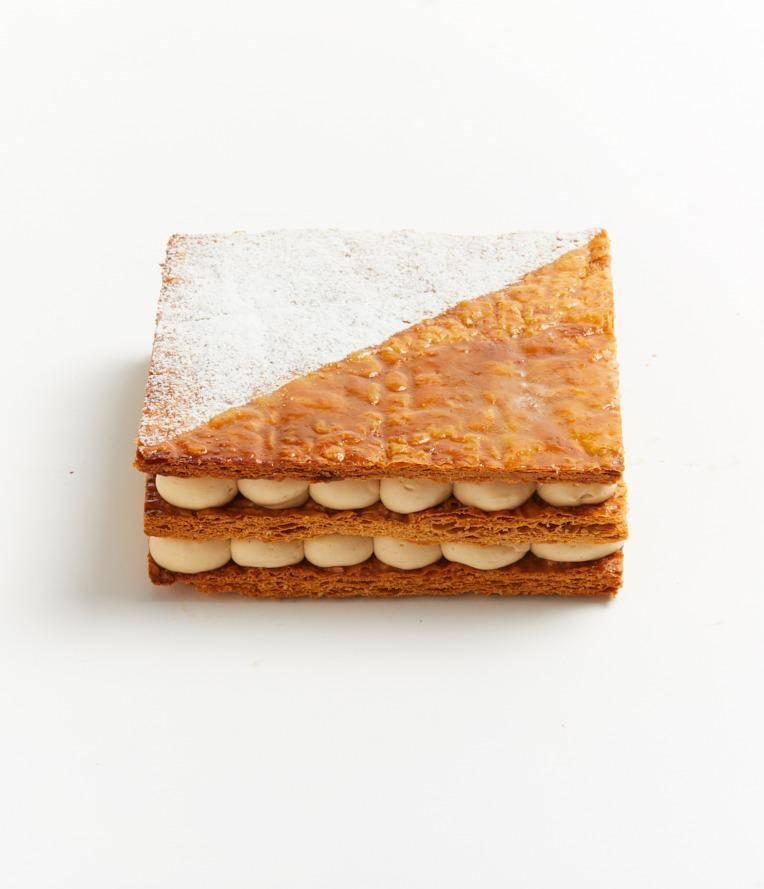 鹽味焦糖千層蛋糕 0