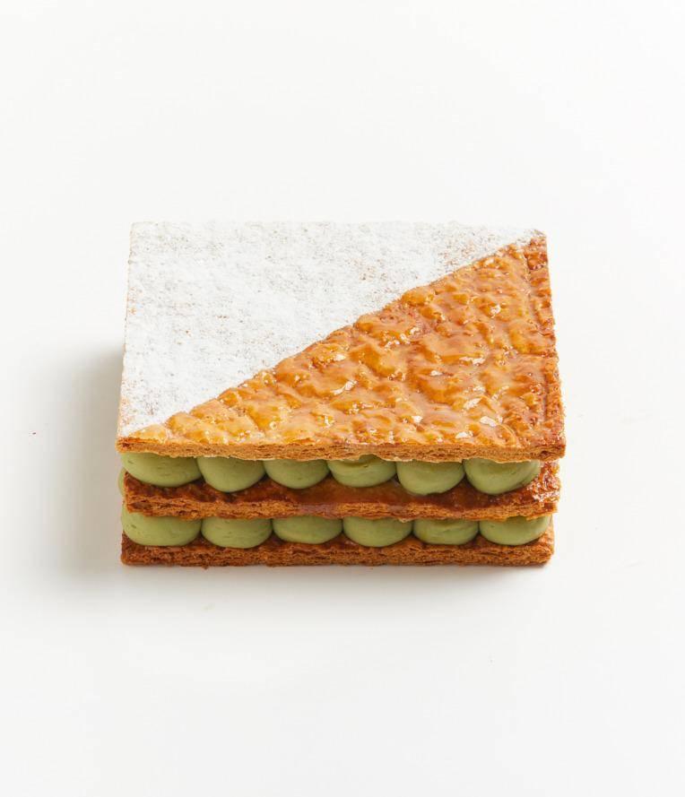 綠茶千層蛋糕 0