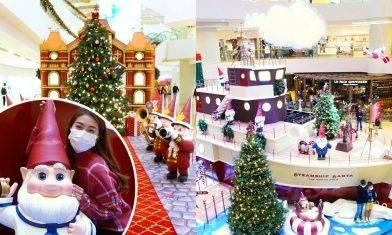 聖誕老人號啟航!金鐘太古廣場變身精靈小鎮   度度都有打卡位!