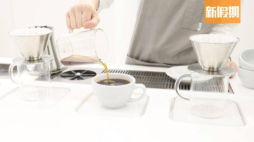 提供手沖咖啡,可選擇各款單品豆。