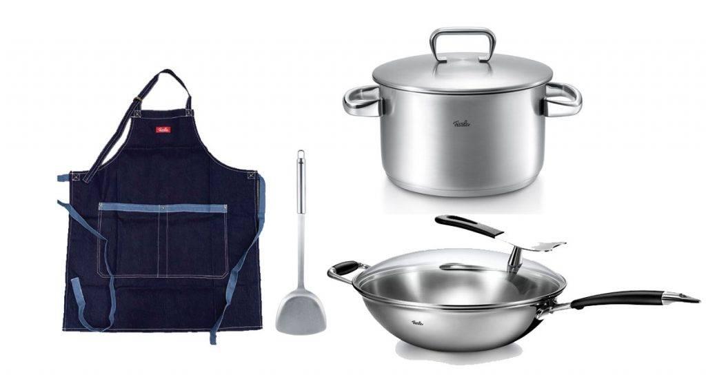 Fissler 4件廚具福袋8(原價,908)(只限沙田/大埔店,每店限售40套)