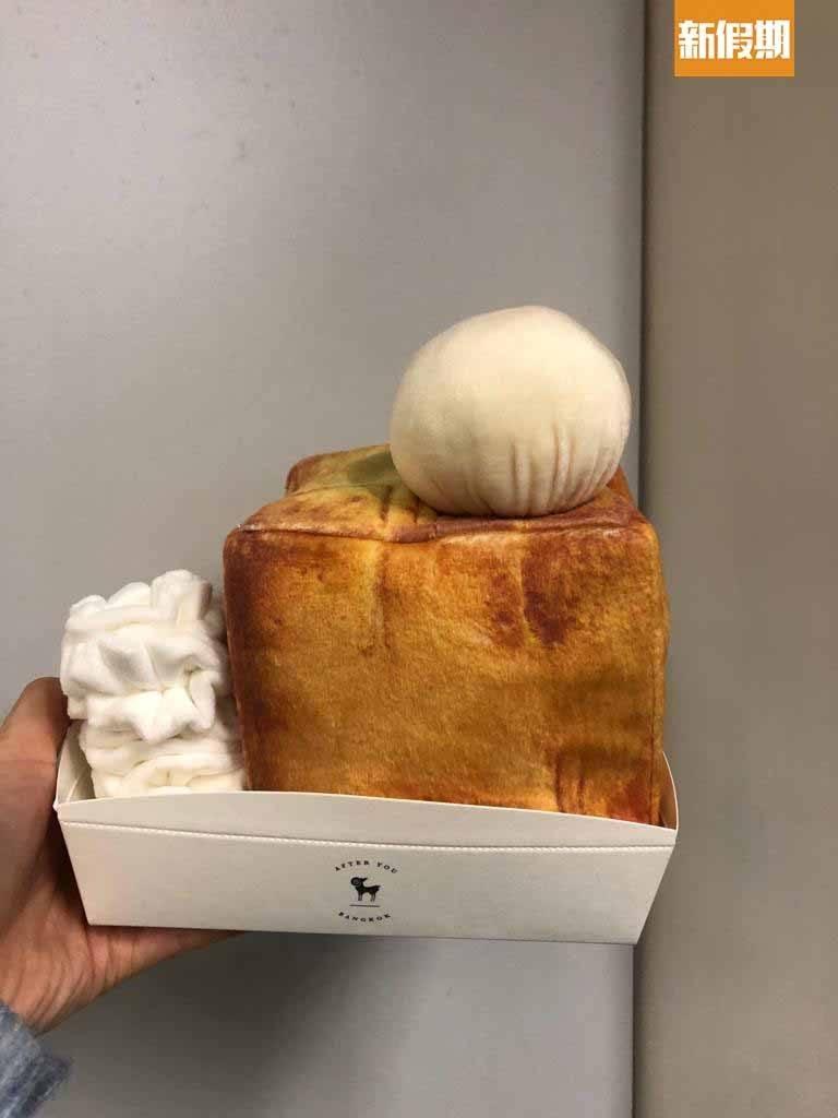 蜜糖吐司紙巾盒8 造型可愛,可用來當聖誕禮物。