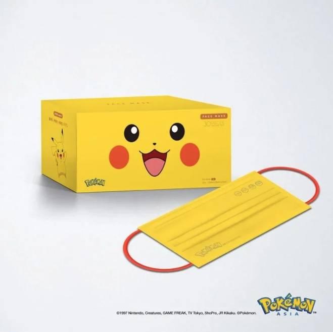 Pokémon口罩。