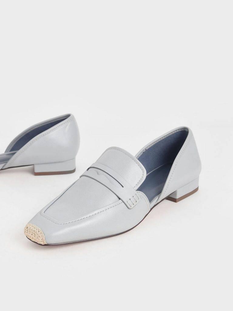 麻繩拼接樂福鞋(2色可選)原價:9 特價:9
