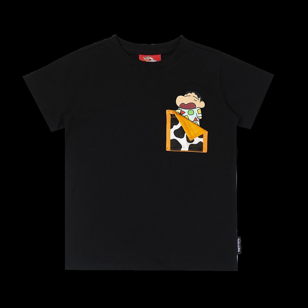 童裝蠟筆小新口袋T恤 9