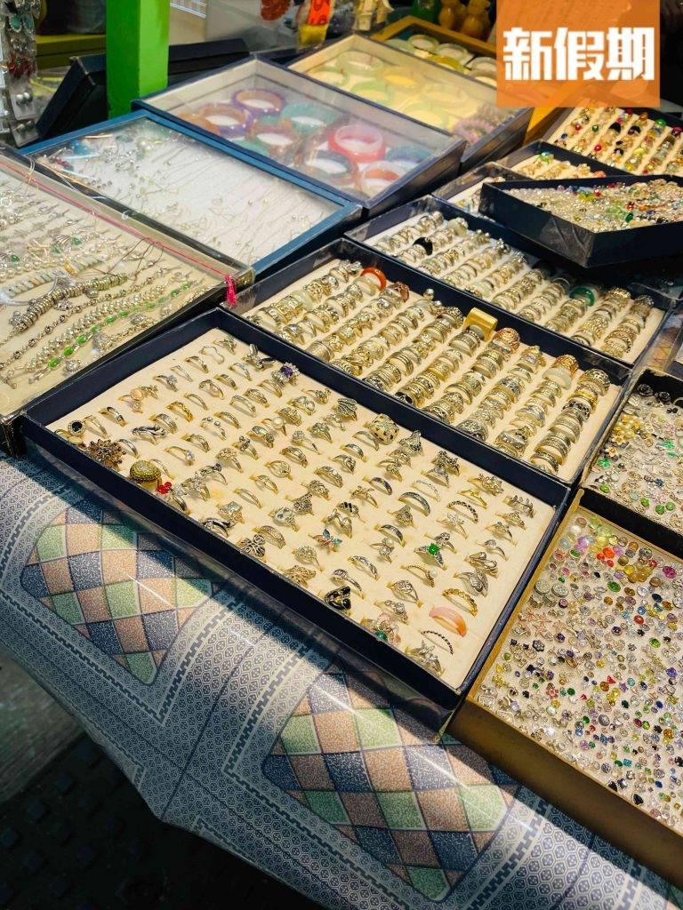 戒指銀器及玉器(圖片來源:新假期編輯部)