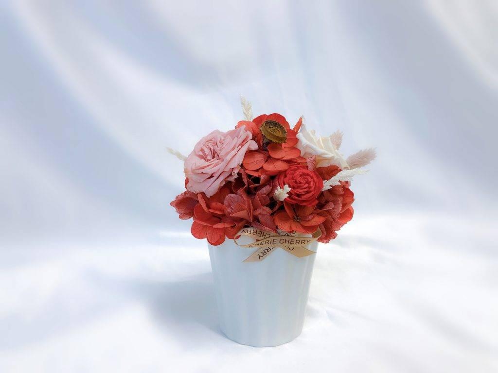 CHÉRIE CHERRY_Japanese Importer Preserved Flower Pot