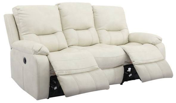 FELIX三座位電動雙彈鉸布藝梳化 (黑/白),999(原價,599)