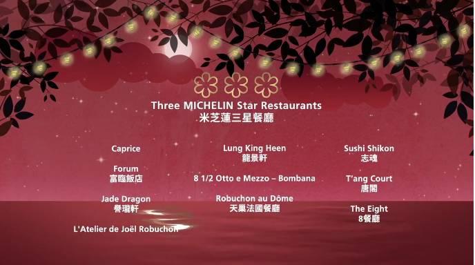 米芝蓮三星餐廳