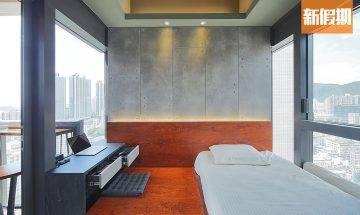 205呎英倫工業風納米單位連露台 設計師度身訂造傢俬 示範如何增加儲物空間