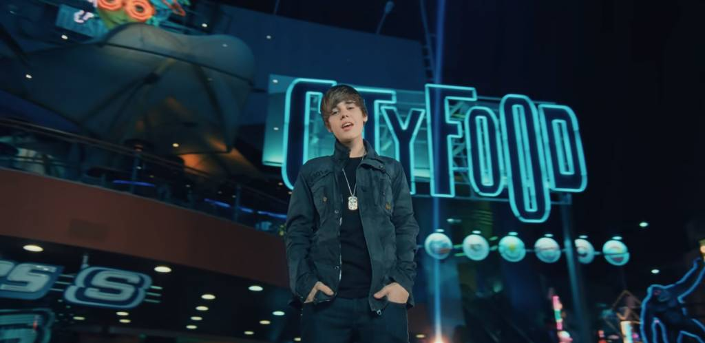 期待Gavin會成為下一個Justin Biber。(圖片來源:Justin Bieber MV -Baby截圖)
