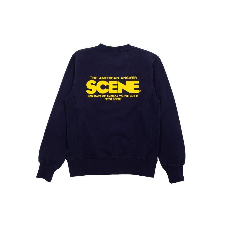 SCENE logo印花圓領衛衣 原價8