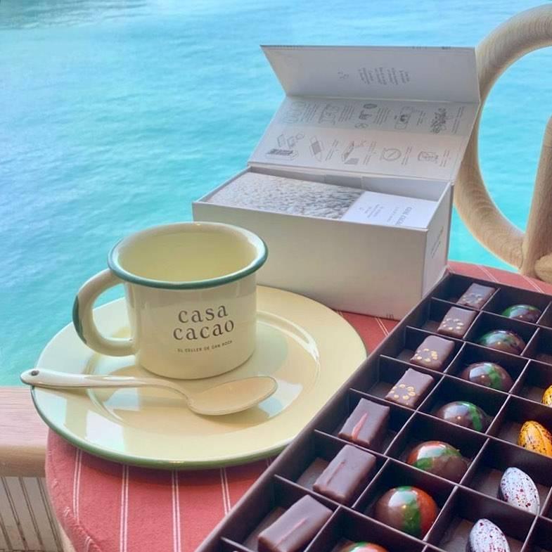 西班牙Casa Cacao品牌首度來港,於Cafe內開設Pop-up Store。(圖片來源:IG@cuppingroomhk)