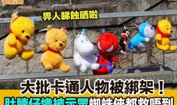 【#網絡熱話】|大批卡通人物被綁架