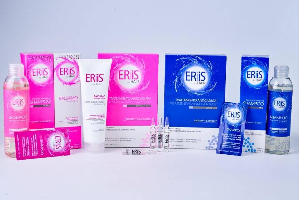 ERiiS 科研7天特護洗護系列(女士/男士)包括洗頭水及護髪素各一支(女士或男士版)