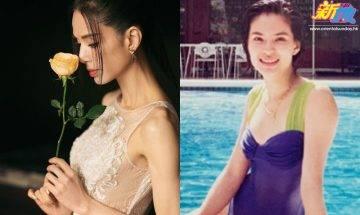 54歲李若彤晒近三十年前一件頭泳裝照 網友大讚:青春無敵!