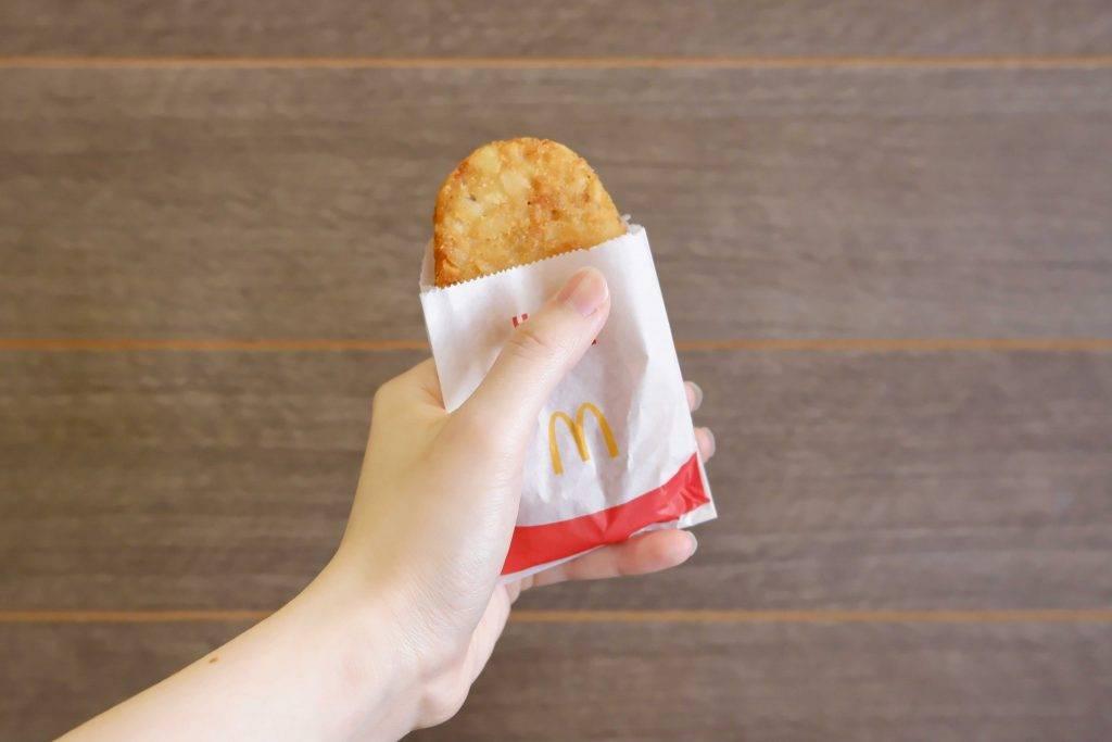 每塊薯餅同時更有2克的纖維。