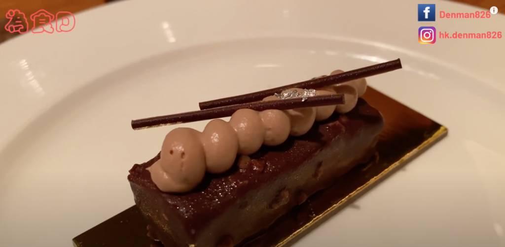 朱古力榛子蛋糕口感豐富,非常好吃